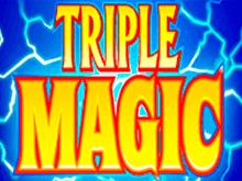 Играть онлайн в автомат Тройная Магия