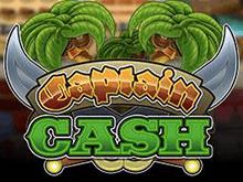 Видеослот Captain Cash онлайн с высокими коэффициентами
